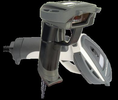 Opticon OPR-3001 průmyslová laserová čtečka, IP54, KBW, světlá