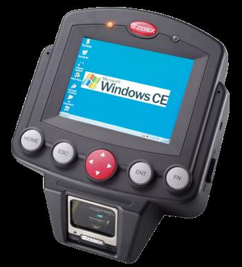 Zebex Z-7010 EasyCheck, Windows CE, RFID