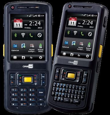 CipherLab CP50-2D WEH 6.5 Pro, BT, Wi-Fi, GPS, QVGA