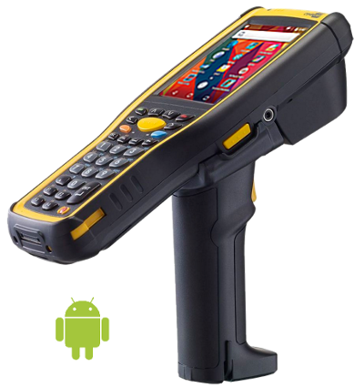 CipherLab CP-9730 Rugged, mobile, logistic and warehouse terminal, WIFI, 2D Imager, Android, 30 keys, USB, Pistol