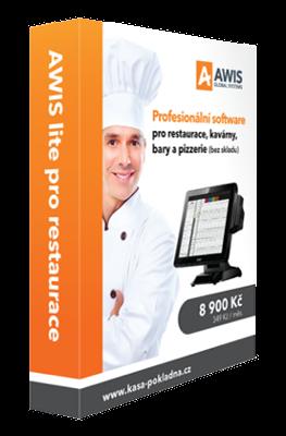 AWIS Pokladní software GASTRO lite pro restaurace (bez skladu)