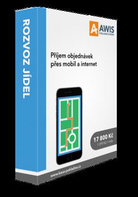 AWIS Pokladní software SLUŽBY – ROZVOZ JÍDEL (telefonické objednávky)