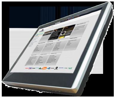 "Birch Czar 15"" dotykový pokladní systém bez stojanu (TrueFlat, Quad Core J1900, 2GB RAM, 64GB SSD, R-touch, fanless), bez OS"