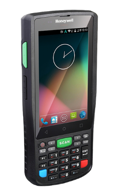 Honeywell ScanPal EDA50K, robust mobile terminal with keyboard, Android 4.4, 1D / 2D, WiFi, camera, BT, NFC, 3G, black