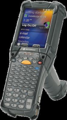 Zebra MC9000 - 2D, WPAN, WLAN, Win CE 7.0, 53 kláves, pistolová rukojeť