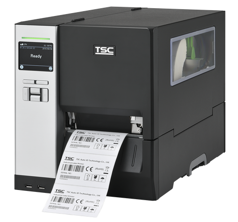 TSC MH340 Metal Industrial Bar Code Printer, 300 dpi, 12 ips
