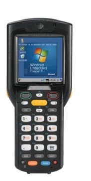 Zebra MC32N0 - Přenosný terminál, laser, Wi-Fi, BT, 38 kláves, Win CE 7.x, st. baterie