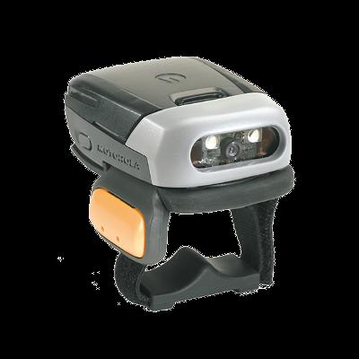 Zebra Motorola RS507 Ring Scanner, bezdrátová čtečka čárových a 2D kódů na dva prsty, handsfree, BT, 1D/2D