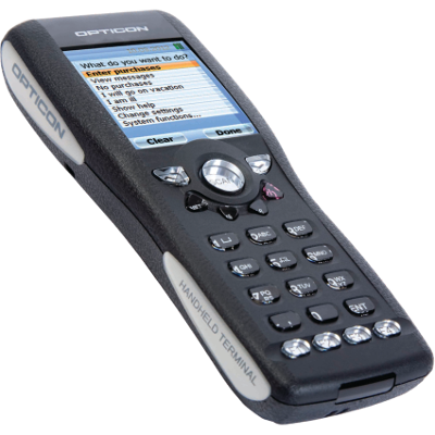 Opticon OPH-1005 Portable terminal, colour display, laser, 4MB memory
