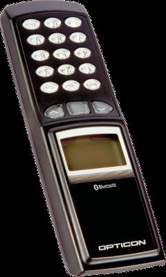 Opticon PX-36, 1D/2D data kolektor s LCD displejem, Bluetooth, IrDA
