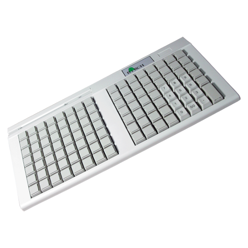 Birch PKB-111 Pokladní klávesnice, USB, 111 kláves, světlá
