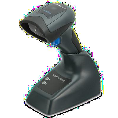 Datalogic QuickScan, bezdrátová čtečka, KIT: USB, BT, 1D/2D, základna