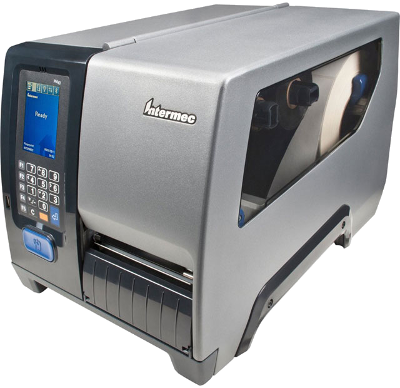 "Intermec PM43 - Tiskárna etiket, TT, 300DPI, 4"", LCD, USB, RS232, LAN"