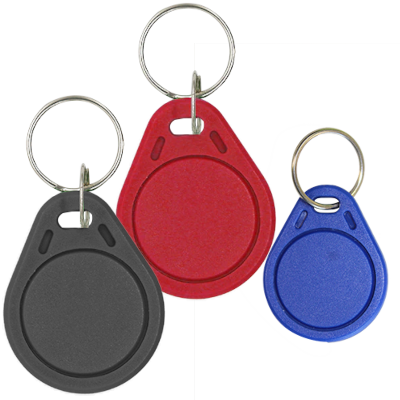 Elatec RFID Mifare čip, přívěsek na klíče, 13.56 MHz, černý, RO