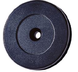 RFID kroužek 52mm, ABS černý EM4102