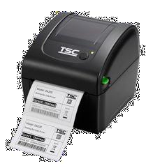 TSC DA200 Desktop-Barcode-Thermodrucker, kein SD-Kartensteckplatz, 5 ips, 203 dpi, USB+LAN