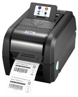 TSC TX600 Stolní TT tiskárna čárových kódů, 600 dpi, 4 ips, LCD, tmavá