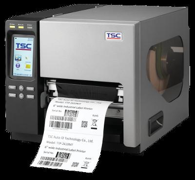 TSC TTP-2610MT Metal Industrial Bar Code Printer, 6 inch wide print