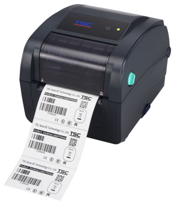 TSC TC300 Klapphandy Desktop-Barcode-Thermotransferdrucker, 300 dpi, 4 ips