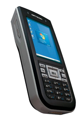 Opticon H32 1D Laserový odolný terminál s Windows Embedded Compact 7, WLAN, BT, numerická kl.