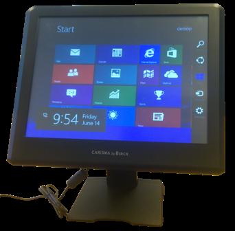 """Birch A8TS-SB 15"""" dotykový pokladní systém (D525, 2GB RAM, 32GB SSD, fan), bez OS"""