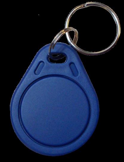 Elatec RFID Mifare čip, přívěsek na klíče, 13.56 MHz, modrý, RO