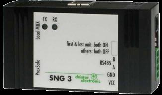 Deister Převodník rozhraní RS485/USB