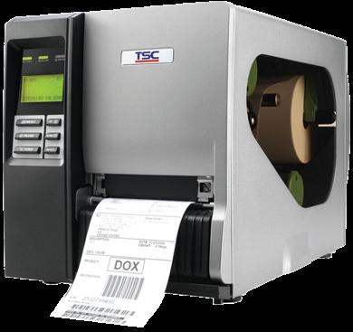 TSC TTP-344M Pro: Pro Metal-Industrie-Barcodedrucker, 300 dpi, 6 ips