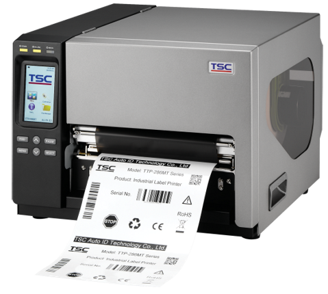 TSC TTP-286MT Metal-Industrie-Barcodedrucker, 203dpi, 8 Inch Druckbreite