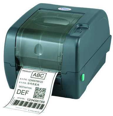 TSC TTP-345 Desktop Barcode Printer, 300 dpi, 5 ips, USB&LPT&COM