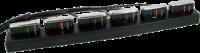 Dokki CMT-6: 6 slotová dobíjecí a komunikační jednotka pro OPN-2001, 2005 a 2006