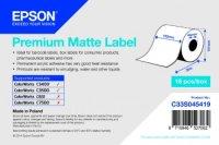 Epson TM-C3500 - Premium Matte Label - Continuous Roll: 102mm x 35m
