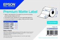 Epson TM-C3500 - Premium Matte Label - Die-cut Roll: 76mm x 51mm, 650 labels