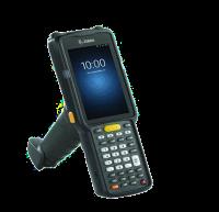 Zebra MC3300 - Přenosný terminál, rukojeť, 2D, Wi-Fi, BT, 38 kláves, Android