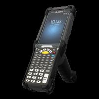 Zebra MC9300 - Přenosný terminál, rukojeť, 2D Imager s dlouhým dosahem, Wi-Fi, BT, 53 kláves, Android