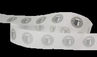NFC Tag (NTAG215) 504 Bytů, samolepka 13.56 mHz, průměr 2,5 cm