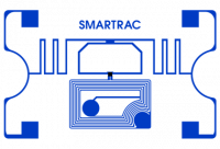 Avery Dennison Web Dual Frequency RFID tag, UHF & HF, 54mm x 34mm, clear label