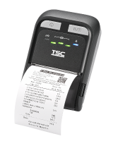 TSC TDM-20 Mobilní tiskárna čárových kódů, 203 dpi, 4 ips, USB, Bluetooth, WiFi