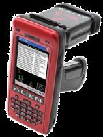 Alien ALH-9011 Průmyslový mobilní počítač, 2D, RFID, Wi-Fi, QVGA, WM, GPS, 3G, rukojeť, UHF 865-868 MHz