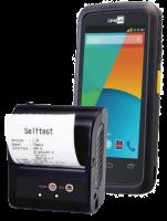 CipherLab Mobilní sestava pro EET odolný smartphone s tiskárnou účtenek
