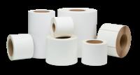Samolepící etikety 70mm x 15mm, bílý papír, 5000 et/kot. (cena za 1000 ks)