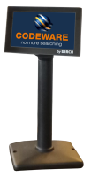 """Birch LCD-50 Zákaznický displej, barevný TFT-LCD, 5"""", černý, USB+RS232"""