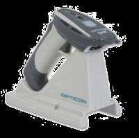 Opticon OPR-3101 bezdrátová průmyslová laserová čtečka, IP54, USB, světlá - použitá