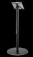 ES Stojan pro X-Frame, volně stojící na podlahu, rovný, černý, otočný vodorovně, bez rámečku