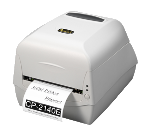 Argox CP-2140E Thermal-transfer Label Printer, 4 ips, RS232+USB+LAN