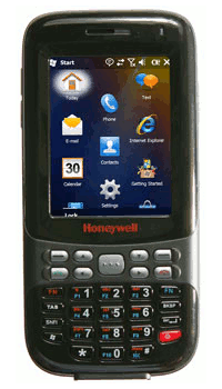 Honeywell Dolphin 6000 - Laser, Camera, WiFi, BT, GSM, GPS, WM 6.5 Prof., 29 kl. - předváděcí kus