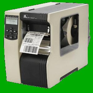 Zebra 110Xi4 - 300 DPI, USB+RS232+Printserver 10, 100, řezačka