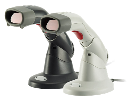 Zebex Z-3051BT bezdrátová ruční laserová čtečka čárových kódů se stojánkem, USB, světlá
