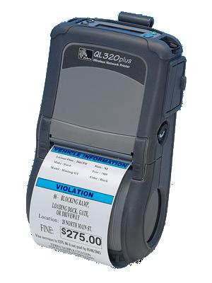Zebra QLN 320 - mobilní termotiskárna, Bluetooth