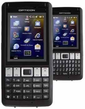 Opticon H21 2D Odolné PDA, WPAN, WLAN, WWAN, GPS, WM 6.5, QWERTY